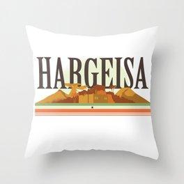 Hargeisa - Somaliland Throw Pillow