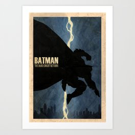 Return of the Bat Art Print
