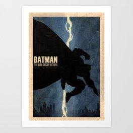 Return of the Bat Art Print