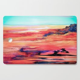 Nevada Abstract Landscape Cutting Board