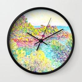 MONET : Landscape Near Montecarlo Wall Clock
