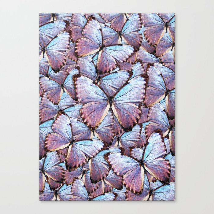 Iridescent Butterflies Leinwanddruck