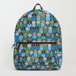 peg people doctors Backpack
