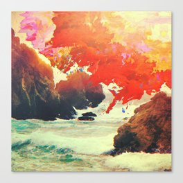 Endless Sunrise Canvas Print