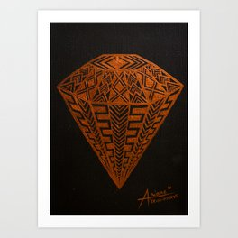 Zentangle - Diamond Art Print