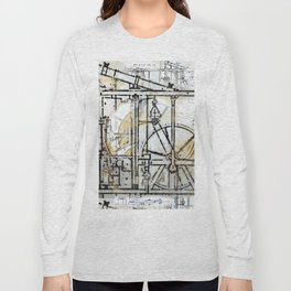 The Steampunk Machine Long Sleeve T-shirt