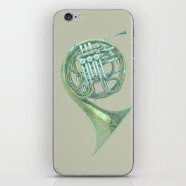 Single horn in F iPhone Skin