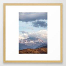 Atlas Mountains Framed Art Print