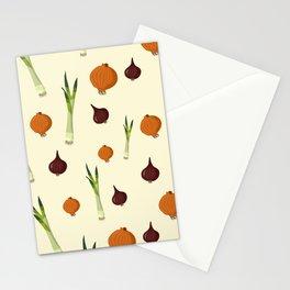 Onion pattern Stationery Cards