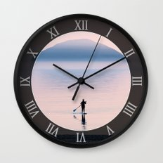 Heading to Blue Island Wall Clock