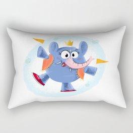 Festive elephant Rectangular Pillow