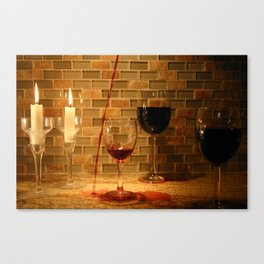 a little more... Canvas Print