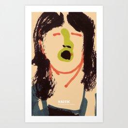 Graphic Gigs: Nautic Art Print