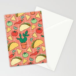 Taco Night Stationery Cards