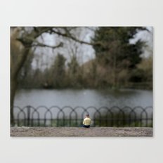 Tommy By The Lake  Canvas Print
