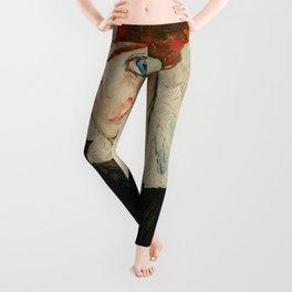 """Egon Schiele """"Portrait of Wally Neuzil"""" Leggings"""
