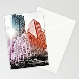 New York in color Stationery Cards