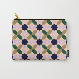 Geometrical Pattern Design Carry-All Pouch