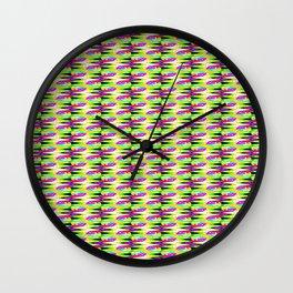 Pattern RJ Wall Clock