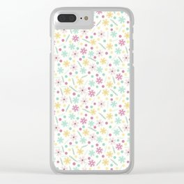 Summer Time Party Collection - Let's Dance Clear iPhone Case