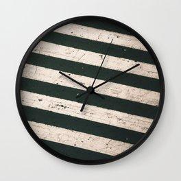 ROAD WORK Wall Clock
