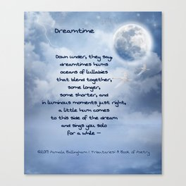 Dreamtime   Pamala Ballingham Canvas Print
