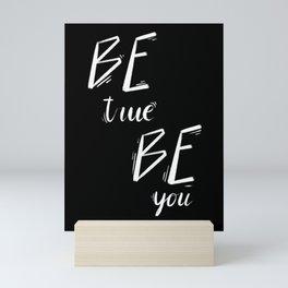 """Be True, Be You"" inspired by Anine Bing, Anine Bing & Bing Kids Mini Art Print"
