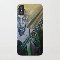 allyson johnson iPhone & iPod Cases featuring Robert Johnson  by Robert E. Richards