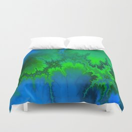 Dropped Out Duvet Cover
