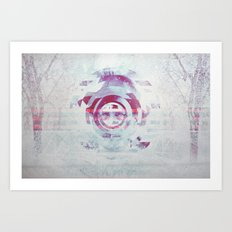Whiteout Art Print