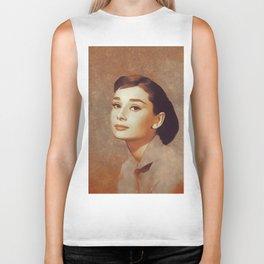 Audrey Hepburn, Hollywood Legend Biker Tank