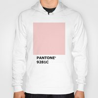 pantone Hoodies featuring PANTONE 9281C by cvrcak