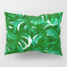 Green Leaves 2 Pillow Sham