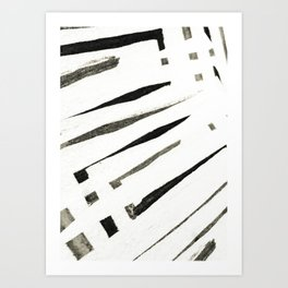abstract minimal Art Print