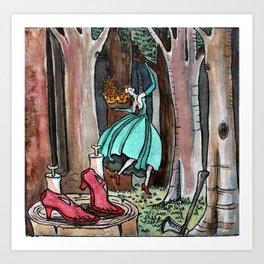 Res shoes Art Print