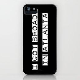 Broads 1 iPhone Case