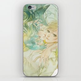 world without you iPhone Skin