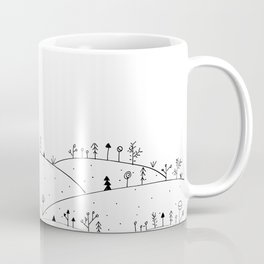 Landscape Doodle Art Coffee Mug