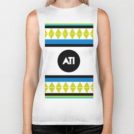 ATI Logo Print (Aspire To Inspire) Biker Tank