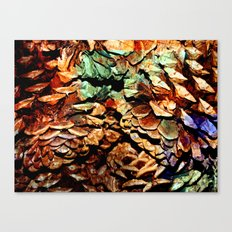 Painted Pine Canvas Print