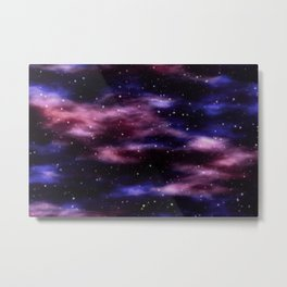 Exploring Space - Outer Space Metal Print