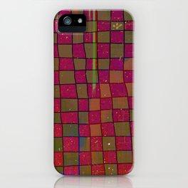 Manual Grid Fall Digital iPhone Case