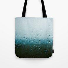 teardrops of rain Tote Bag