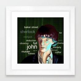 Deduction Framed Art Print