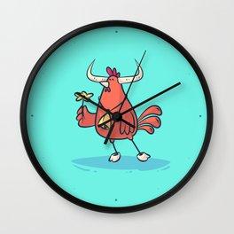 Taurus (Zodiac set) Wall Clock
