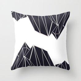 Mountains B2 Throw Pillow