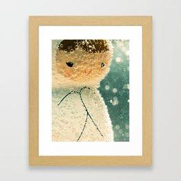Snuggle bubble Framed Art Print