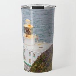 Hartland Point Lighthouse Devon Travel Mug