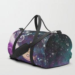 Exploring The Star Fish Constellations Duffle Bag