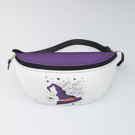 HALLOWEEN-IF THE HAT FITS-WITCH HAT Fanny Pack